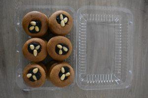 medovniky certekova - medovnikove krabicky - krabicka medovnikov so slivkovym lekvarom a mandlami 3