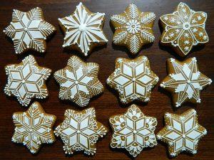 medovniky certekova - vianocne malovane medovniky 1