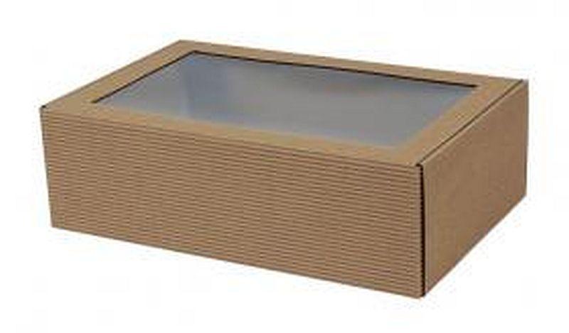 medovniky certekova - obalovy a prezencny material - papierova krabička s priehladným okienkom